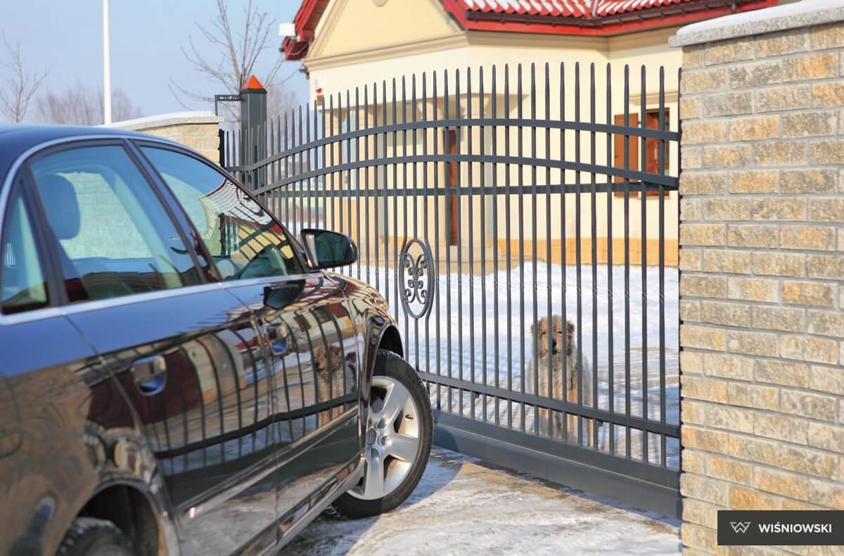 Grindar, staket, stängsel. System Lux.